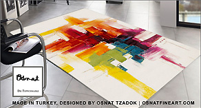 osnat's art on carpets