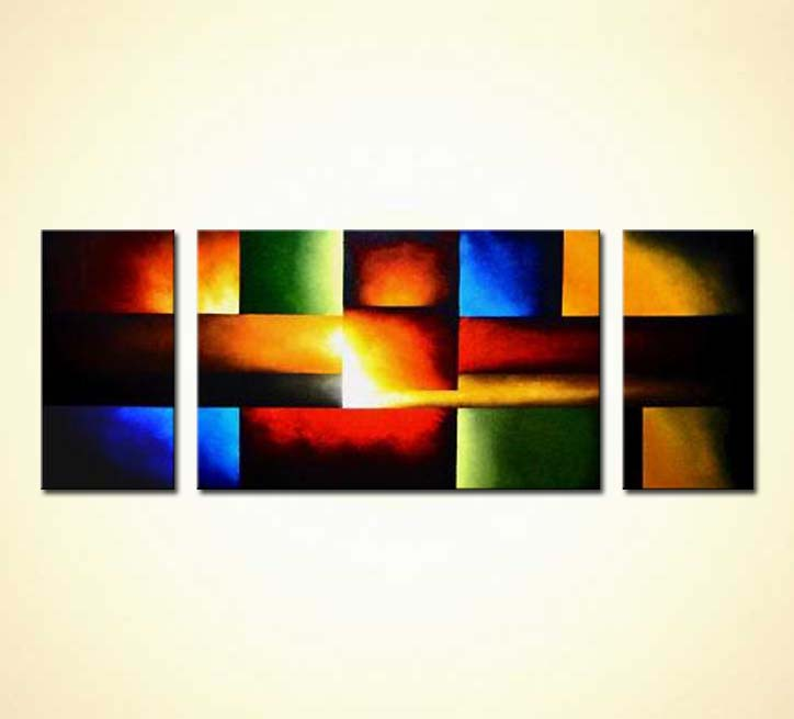 buy abstract art squares  987