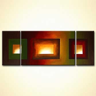 home decor squares painting