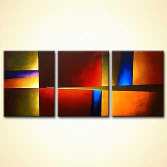 triptych canvas wall decor