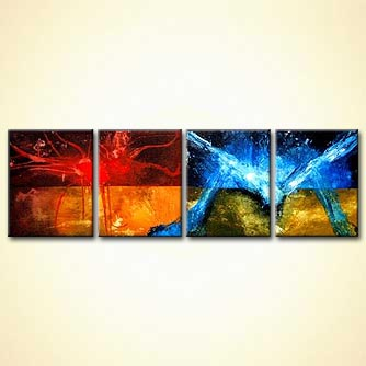 Abstract painting - The Invasion