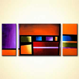 Abstract painting - Composition III