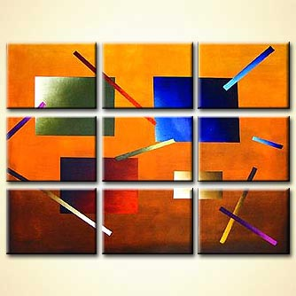 modern abstract art - Windows to the Mind