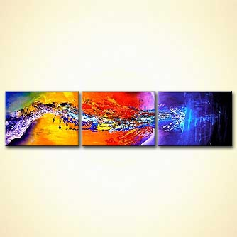 Abstract painting - The Outer Limit