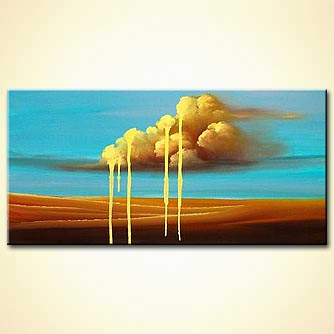 Landscape painting - When the Sky is Crying