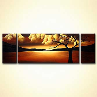 Landscape painting - And Heaven Shall Dance