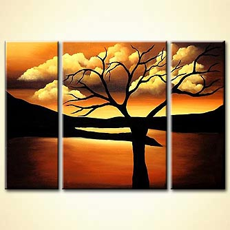 Landscape painting - A Gift by Heaven