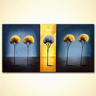 Forest painting - Desert Flower