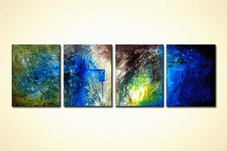 modern abstract art - Deep Blue Space