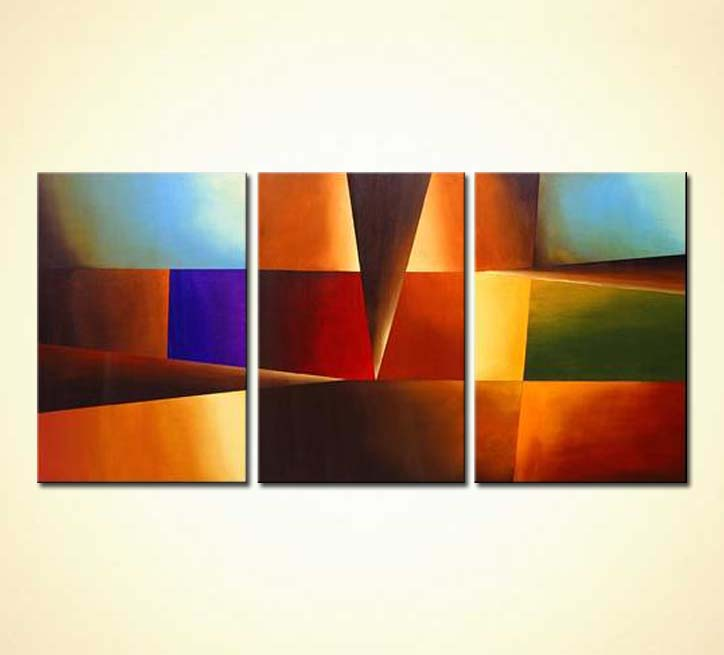 Painting For Sale Abstract Squares Painting 1327