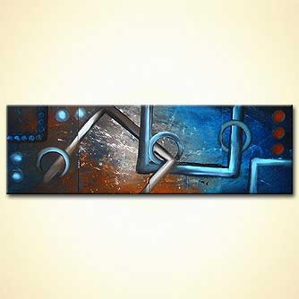 Abstract painting - When I Confined in You