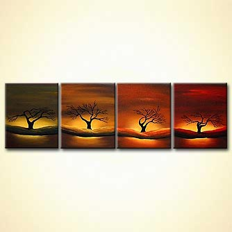 modern abstract art - The Four Winds