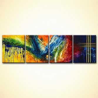 Abstract painting - Space Odyssey
