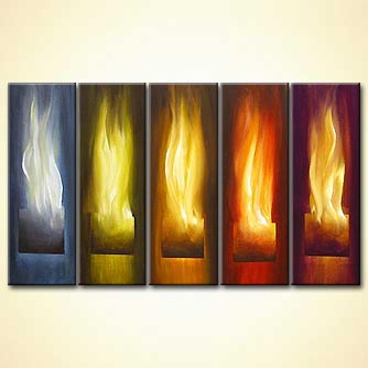 Giclee print - Touched with Fire