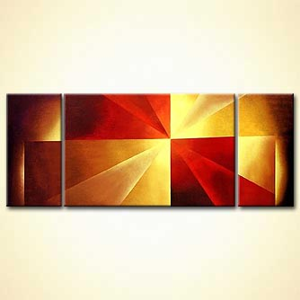 Abstract painting - Focal Point