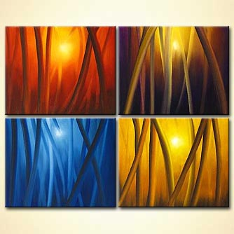 modern abstract art - Seasons