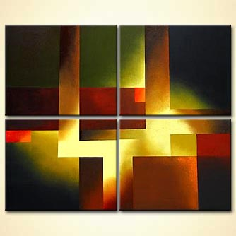Abstract painting - Glory