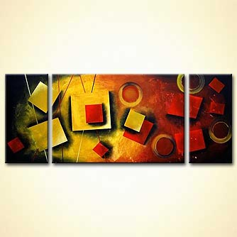 Abstract painting - Color Kinetics
