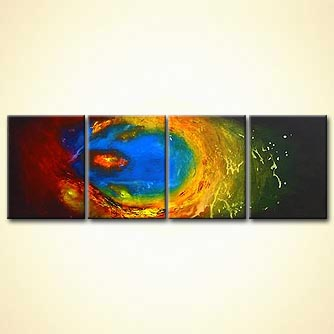 modern abstract art - The Eye of the Storm