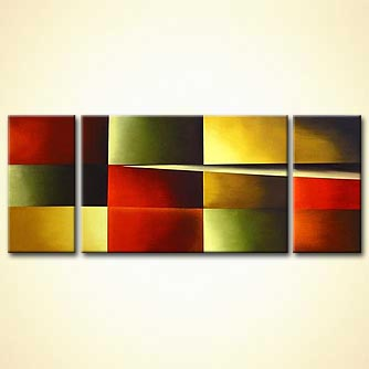 modern abstract art - Into the Light