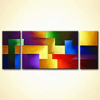 modern abstract art - Lovely Thoughts