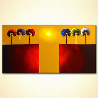 modern abstract art - The Gate to Paradise