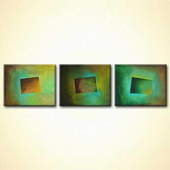 Abstract painting - Signs of Time