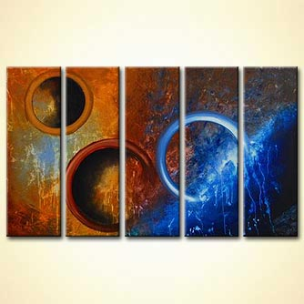 Abstract painting - Pandoras Star