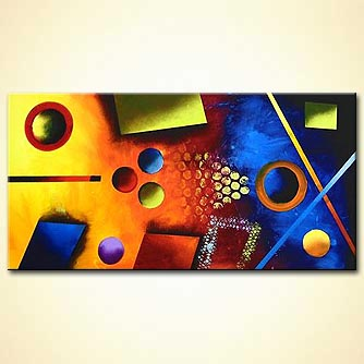 modern abstract art - Pool Table
