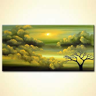 Landscape painting - Heaven on Earth