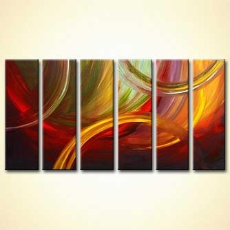 Abstract painting - The Perfect Dream