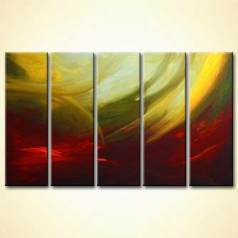Abstract painting - Wings of Time