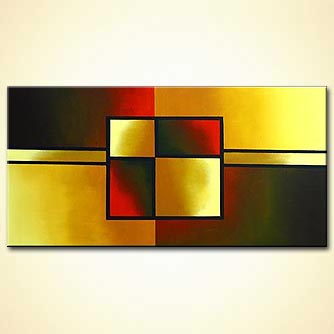 Abstract painting - Charm