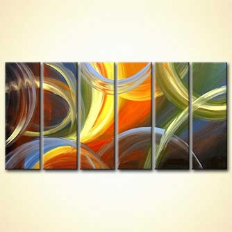 Abstract painting - Beautiful Thoughts