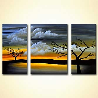Landscape painting - I Cant Let go