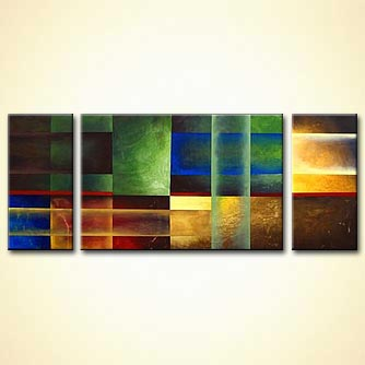 modern abstract art - Symphony of Light