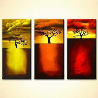 Landscape painting - Three Steps to Heaven