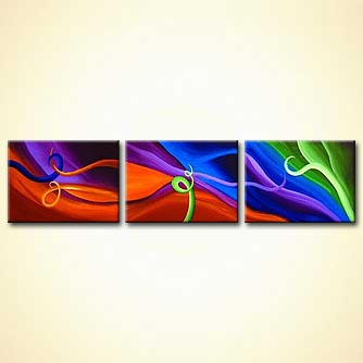 Abstract painting - The Art of Seduction