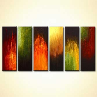 modern abstract art - A Walk in the Woods