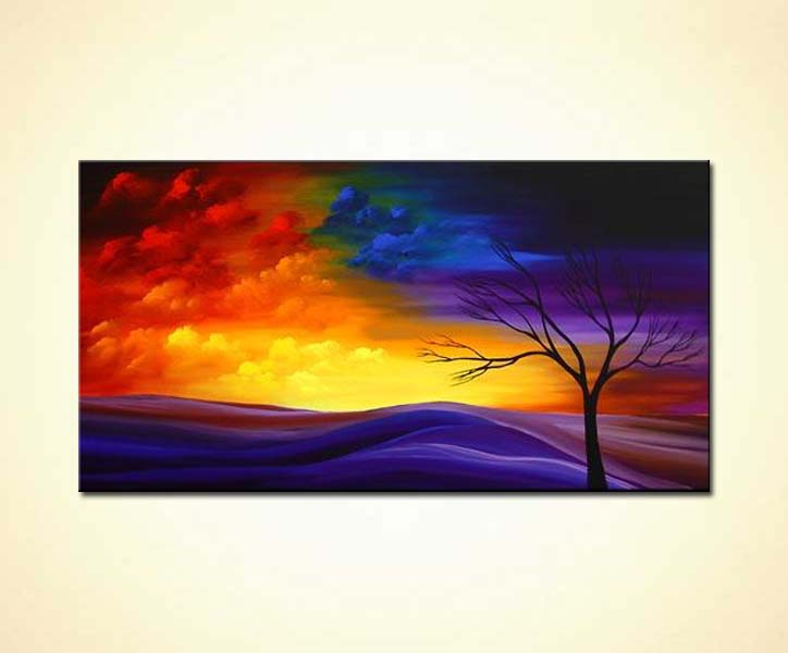 Painting For Sale 1 Abstract Landscape Painting 2244