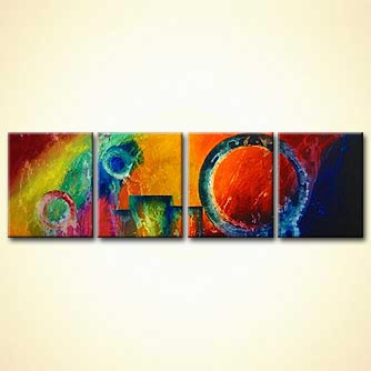 modern abstract art - The Third Planet