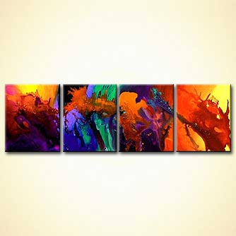 Abstract painting - One More Night