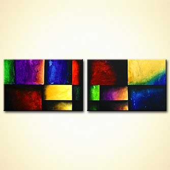 modern abstract art - Enchanted