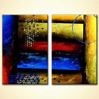 modern abstract art - Feel the Rain on Your Skin