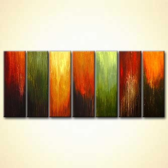 Abstract painting - One Vision