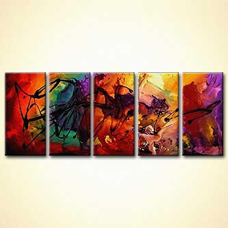 modern abstract art - The Maestro