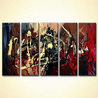 modern abstract art - Never Been Sold Before