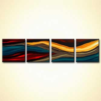 modern abstract art - Love is the Seventh Wave