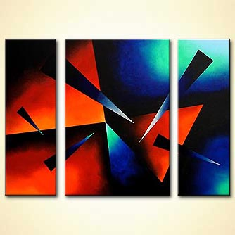 modern abstract art - The Focal Point