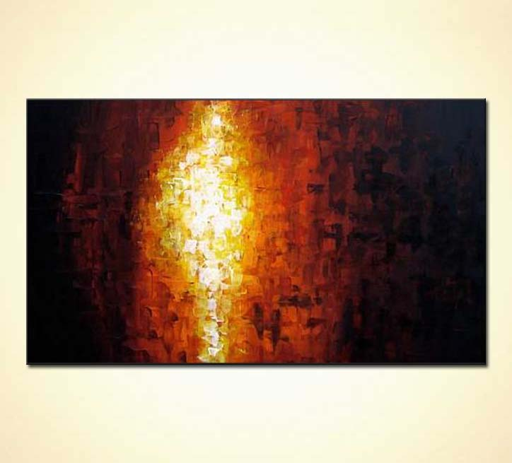 painting for sale fire art 2591